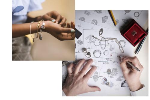 Smykker, armbånd og design af smykker